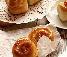 香甜柔软【脆底蜂蜜小面包】的做法