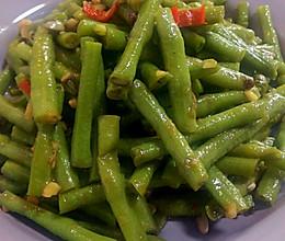 蒜蓉花椒炒长豆角(豇豆)的做法