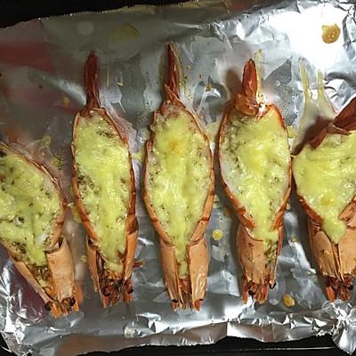 芝士焗大海虾