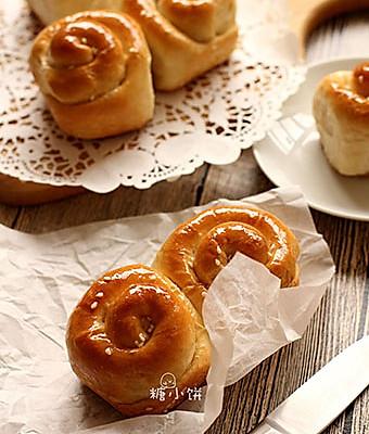 香甜柔软【脆底蜂蜜小面包】