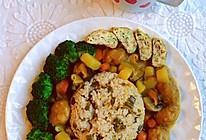 #合理膳食 营养健康进家庭#不重样早餐~咖喱鸡肉饭的做法