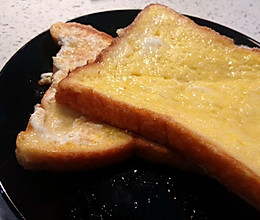 蛋香面包片的做法
