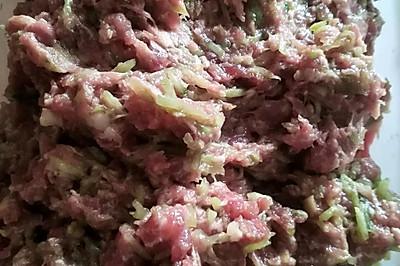 牛肉猪肉黄瓜饺子馅