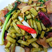 酸豆角炒肉