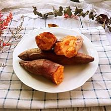#秋天怎么吃#烤红薯