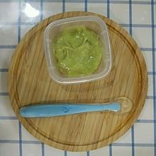 6+辅食——香蕉牛油果泥