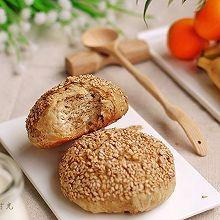 麻酱烧饼早餐#美的早安豆浆机#
