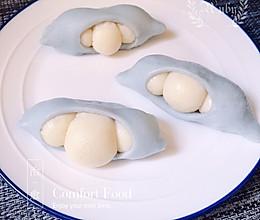 #美食新势力#治愈系美食之一:豌豆荚馒头的做法