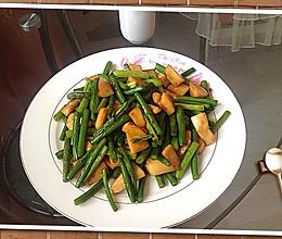 蒜苔杏鲍菇的做法