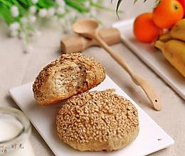 麻酱烧饼早餐#美的早安豆浆机#的做法