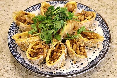 【彼得海鲜】快手菜之皇家鸡丝卷