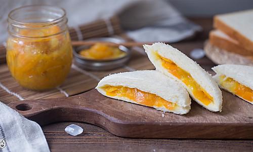 金橘果酱面包的做法