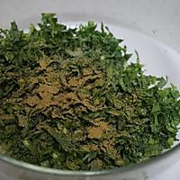 清爽的暖春菜——茼蒿炸丸子的做法图解2