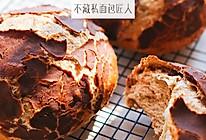 碎一点,更好吃,虎皮面包的做法