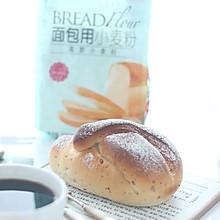 #爱好组-高筋#蜜豆鲜奶面包