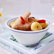 #花10分钟,做一道菜!#板栗炖土鸡汤