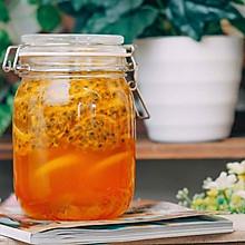 【初味日记】范爷同款的百香果柠檬蜜!简单粗暴的夏日美白饮品!