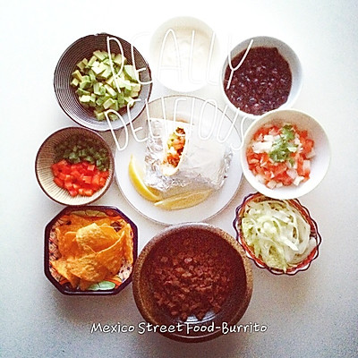 墨西哥牛肉卷Burrito