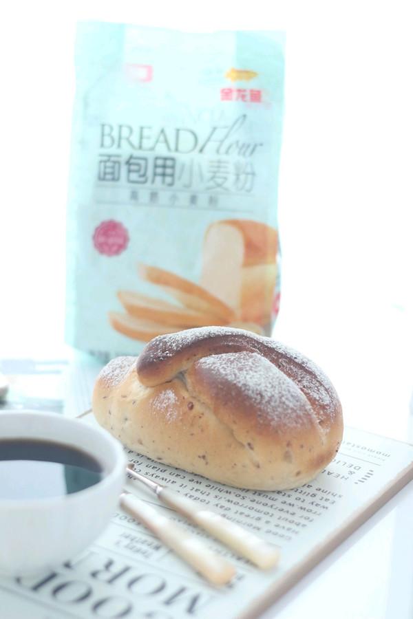 蜜豆鲜奶面包