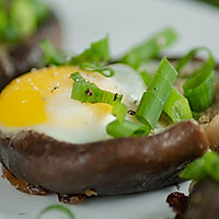 #快手又营养,我家的冬日必备菜品# 一口一个超鲜美的香菇酿蛋的做法图解9