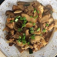 炒香菇瘦肉