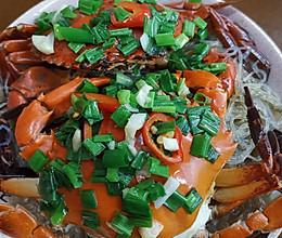 #今天吃什么#螃蟹️蒸粉丝的做法
