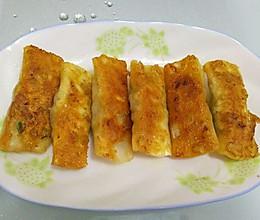 蒜黄锅贴的做法