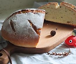 #换着花样吃早餐#零失败的坚果欧式面包的做法