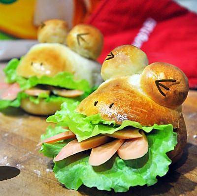 学做青蛙包~九阳烤箱试用