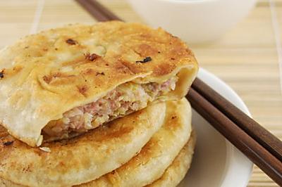 猪肉白菜馅馅饼