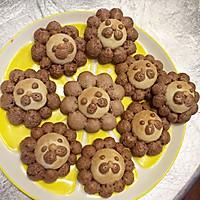 小狮子饼干无油无糖的做法图解5