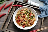 #春季食材大比拼#鲍鱼干贝XO酱之爆炒小河虾的做法