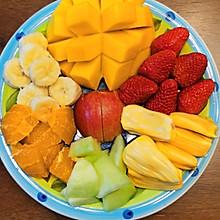 #美食视频挑战赛# 下午茶~水果拼盘