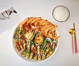 75块钱宴请宾客的硬菜【蒸】海鲜大咖的做法
