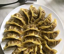 玉米猪肉蔬菜饺子的做法