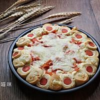 重芝士芝心培根披萨