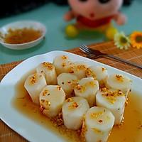 经典味汁凉拌菜之一桂花蜂蜜山药的做法图解6