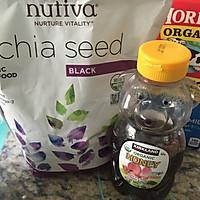 健康减肥-奇麻籽布丁#厉害了我的零食#的做法图解1