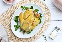 #人人能开小吃店#还原本味的盐焗鸡的做法