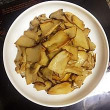 黑椒香煎杏鲍菇