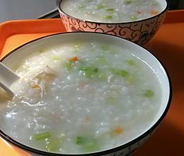 芹菜鸡丝粥的做法