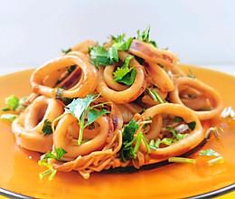 葱油鱿鱼圈|超鲜美的做法