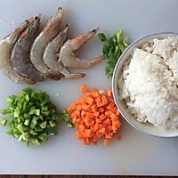 鲜虾芝士焗饭#豆果魔兽季部落#的做法图解1