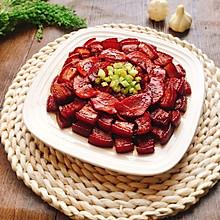 胡萝卜焖五花肉