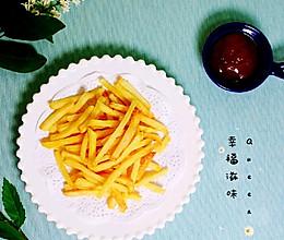 #夏日撩人滋味#空气炸锅轻松搞定肯德基薯条(无油版)的做法