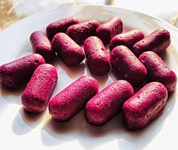 0⃣️难度快手宝宝辅食紫薯发糕的做法