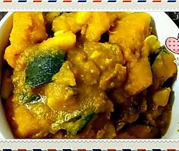 铁锅炖南瓜土豆的做法