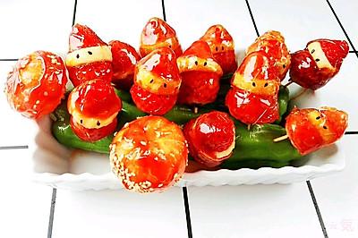 草莓小军团【水果糖葫芦】