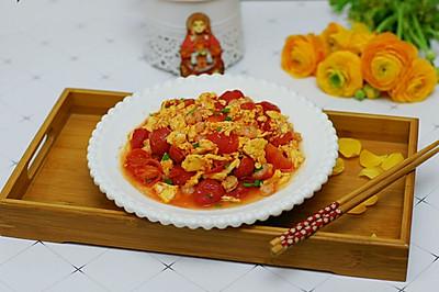 虾仁番茄炒蛋