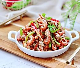 #合理膳食 营养健康进家庭#酱爆夹板虾的做法
